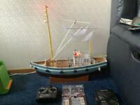 Radio Controlled Fishing Trawer