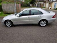 2002 Mercedes-Benz C Class 2.6 C240 Elegance 4dr Manual @07445775115