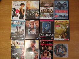 Bundle of DVDs in perfect condition