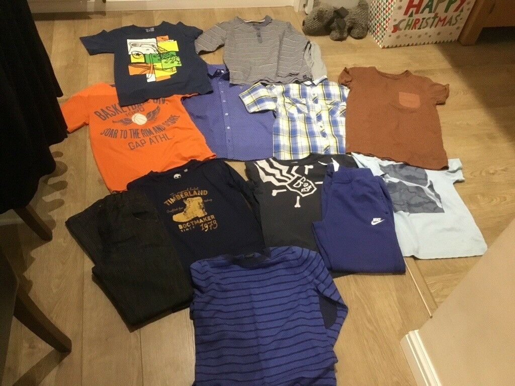 d94697f90 Bundle of boys clothing 10-11-12 years timberland