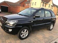 KIA 2.0 CRDi XS 4WD DIESEL5dr ,Sportage MOT 11 MONTHS AND LOW MILEAS ONLY 36000