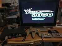 Nintendo 64 n64 console & games