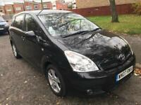 Toyota Corolla Verso 1.8 vvt-i t3 2007, Black, Manual, 7 seater mpv, 81k s/h, mot Aug 2018