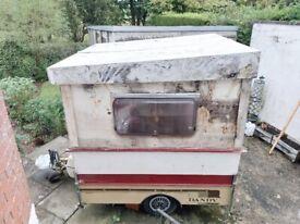 Dandy caravan trailer unfinished project
