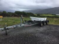 triple axel boat trailer
