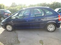 Citroen XSARA PICASSO Desire 2 HDI,5 dr hatchback,nice clean tidy car,runs and drives well,great mpg