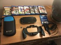 Sony PlayStation vita console and games bundle