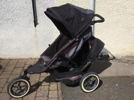 Phil & Ted explorer double buggy stroller system
