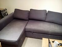 FREE Corner sofa with fold out bed in reasonable condition