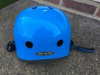 Children's Blue Micro Helmet