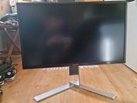"AOC AGON AG271QG 27"" IPS QHD (2560x1440) G-SYNC 165Hz Gaming Monitor (speakers don't work)"
