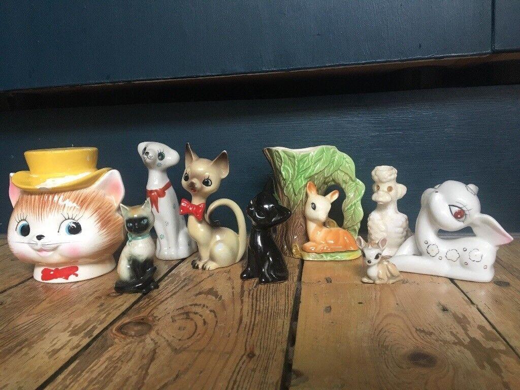 Job lot of Vintage porcelain figurines