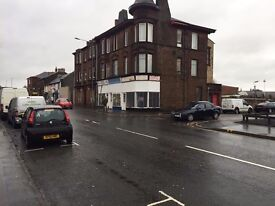 Shop / office to let on busy road Kilmarnock