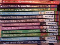 Holly Webb childrens books x 12 - Chatham - GREAT FOR CHRISTMAS
