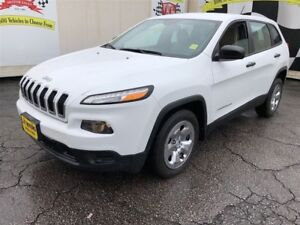 2015 Jeep Cherokee Sport, Auto, Steering Wheel Controls, 51, 000