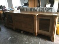Smallbone of Devises beautiful large cherrywood dresser sideboard -suit kitchen or dining room