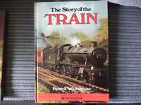 books hardback trains and others