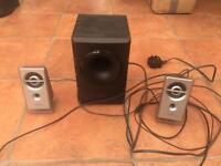 Sony computer speaker set