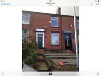 Large 2 bedroom house to rent Syke Rochdale ,cellar, front garden, dining room