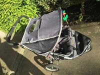 Out & About 360 Nipper Double Buggie + accessories