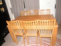 6 chairs in Dining Tables