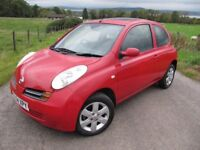 Nissan Micra 1.4 SE with only 46,000 miles. FSH ( 7 Services ) FULL MOT NO ADVISORIES. .