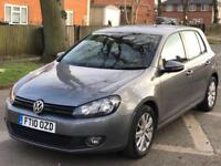 VW GOLF 1.6 TDI DSG BLUEMOTION 5dr 2010 ££££'s Worth of extras