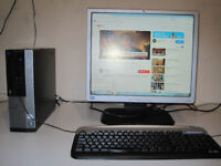 STYLISH Dell 3010 Tower setup with wireless internet and HDMI