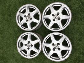 "15"" 4x100 BBS Solitudes alloy wheels"