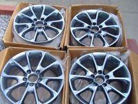 """BMW 18""""Alloy Wheels Style 398 f31 Genuine"""