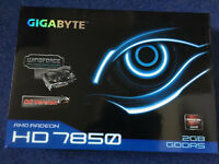 GIGABYTE Radeon HD 7850 DirectX 11 GV-R785OC-2GD 2GB 256-Bit GDDR5 PCI Ready CrossFireX like