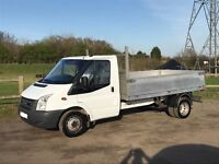 FORD TRANSIT t350 2.4 DIESEL DROPSIDE TRUCK *58,000 MILES* 2007 07-REG FULL SERVICE HISTORY LIKE NEW