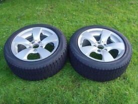 BMW E60 Alloy Wheels with Yokohama 215/50 R17 Winter Tyres