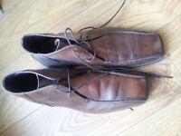Next men's formal shoes , size 8, EU- 42