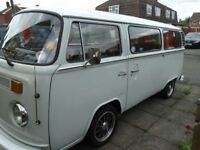 VW Late Bay 1978 Campervan
