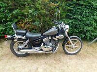 125 yamaha virago very good bike 1years mot
