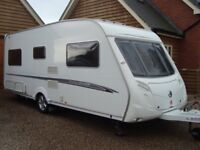Swift Challenger 500 SE Caravan. 4 berth, fixed bed, recent service and damp report.