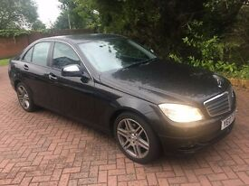2007 MERCEDES C220 2.1 CDI SE AUTOMATIC 'FSH & LONG MOT'