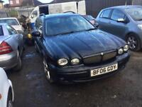 2006 jaguar x type 2.2 tdi estate 6 speed 70 mpg sat nav leather genuine rare sport wow