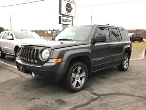2016 Jeep Patriot HIGH ALTITUDE 4WD 1-OWNER TRADE-IN!!!