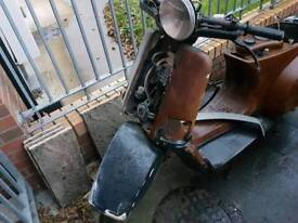 Vespa cosa 200 cc parts or repair