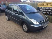 Citreon Picasso 1.6 diesel 08 Reg 1 year mot full service history great condition finance Available
