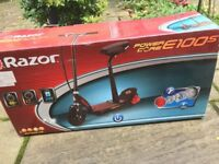 Unopened boxed Kids Electric Scooter - Ideal Gift for Xmas