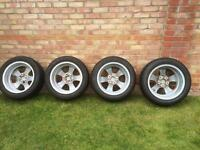 Genuine E60 BMW 225X50 R17 Alloy wheels