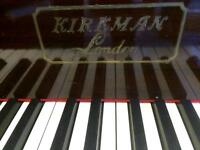 Baby grand piano by Kirkman
