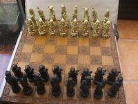 Ornamental Chess Set