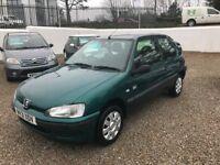 Peugeot 106 1.1 *LOW MILEAGE-12 MOT-CHEAP CAR*