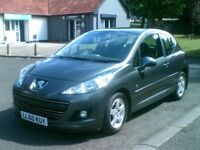 **IMMACULATE 2011 PEUGEOT 207 1.4 HDI 3 DOOR**£20 TAX**MOTD FEB 2019**F S H**RENAULT,FORD,VAUXHALL