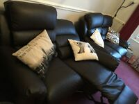 For Sale: 2x double recliner sofas