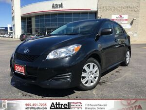2013 Toyota Matrix Keyless Entry, Bluetooth, Cruise Control